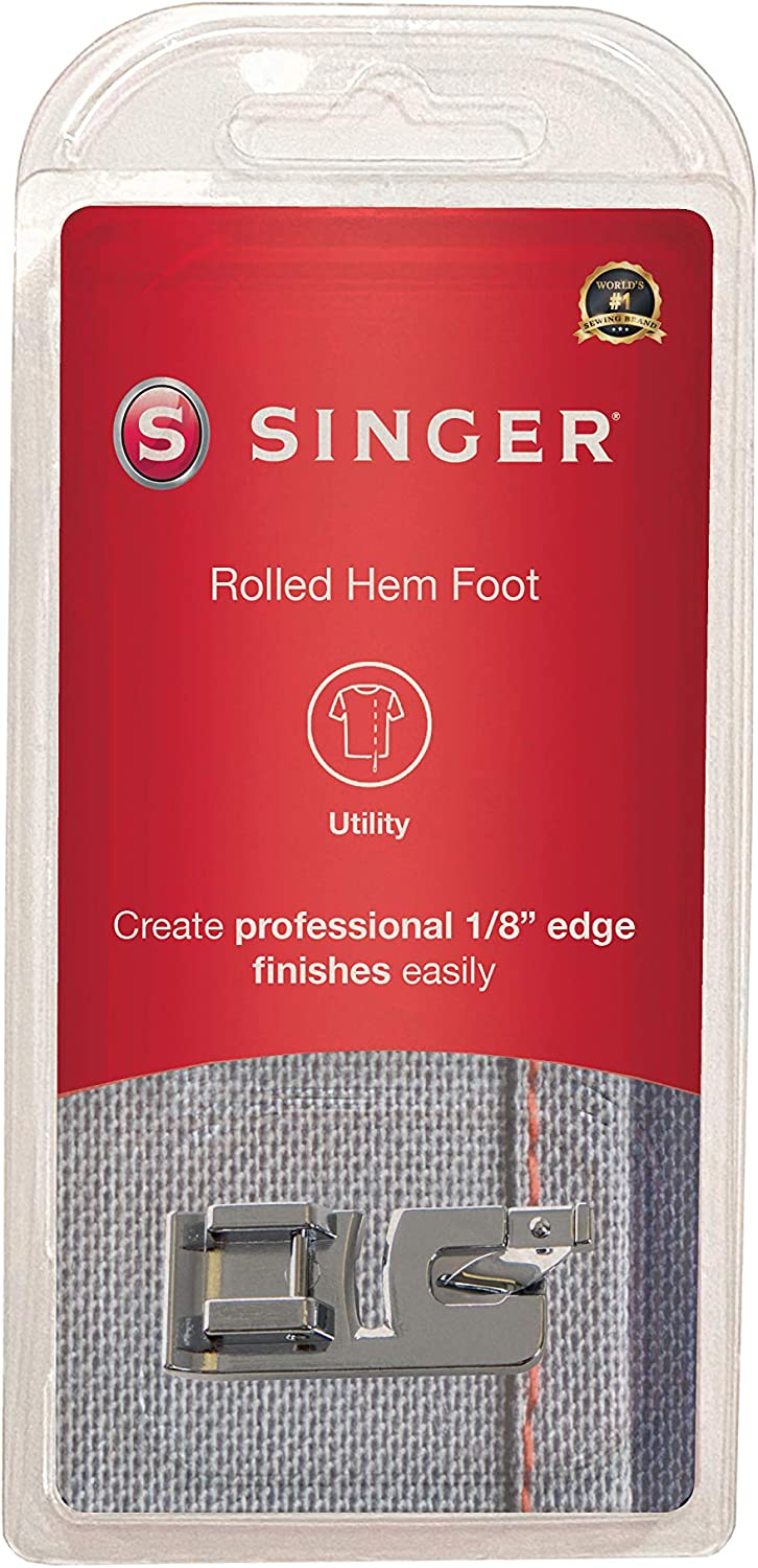 SINGER Narrow Rolled Hem 5 ☆ Quality inspection popular Foot Sewing Machines 1 Low-Shank for