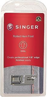 SINGER | قدم ملفوفة ضيقة لآلات الخياطة ذات الساق المنخفض، حافة 1/8 بوصة، أقمشة خفيفة الوزن إلى متوسط، أريكة على حبل ضيق - ...