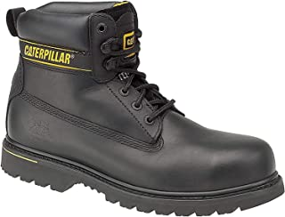 Cat Footwear Holton, Chaussures de Travail Homme, Noir, 49 EU