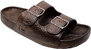 Pali Hawaii Buckle Brown Jandal Sandals 09