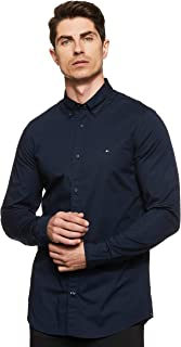 Tommy Hilfiger Core Stretch Slim Poplin Shirt Camicia Uomo
