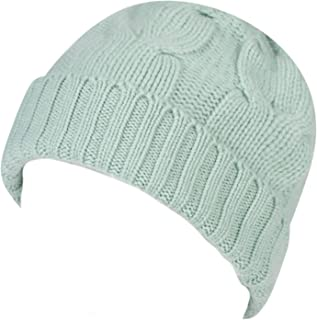 Great & British Knitwear Ladies ZT001 100% Cashmere Cable Knit Hat. Made in Scotland