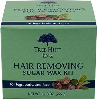 Tree Hut Bare Hair Removing Sugar Wax Kit, 8 Ounce