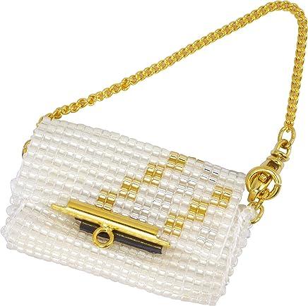 MIYUKI 剪辑珠 袋装饰套件 派对包 白 BFK-475