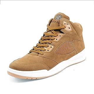 Bacca Bucci Men SNEAKSTER Korean Style High-Top Platform Fashion Sneaker/Casual Shoes