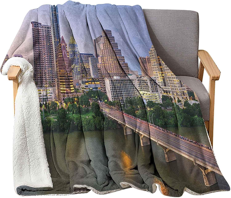 Interestlee 送料無料 新品 Modern Weighted Blanket Kids x Texas 商舗 50