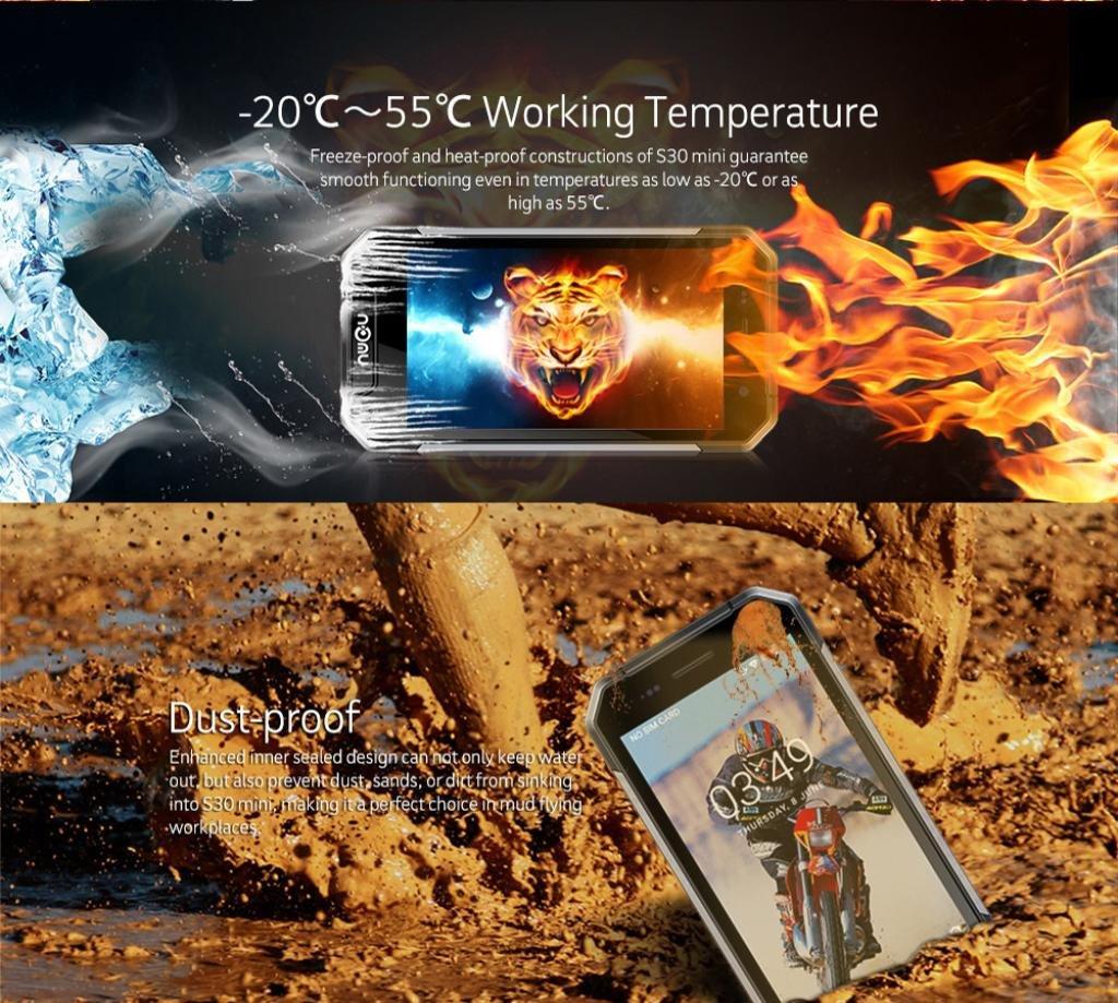 igemy NOMU S30 Mini IP68 Resistente al Agua 4 G Android 7.0 ...