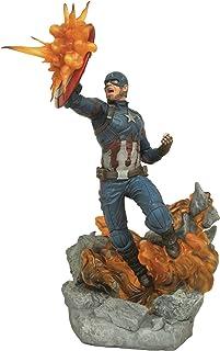 Marvel Diamond Select Toys Milestones Civil War Movie Captain America Resin Statue