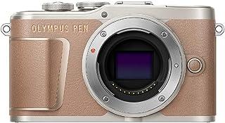 OLYMPUS ミラーレス一眼カメラ PEN E-PL10 ボディー ブラウン
