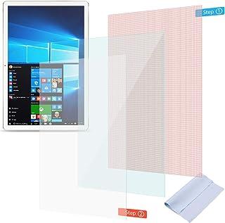 UC-Express Skyddsfilm kompatibel för Lenovo Tab M10 FHD Plus skärmskydd pansarfolie klar universal displayfolie, antal: 2 ...