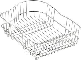 KOHLER K-6603R-St Hartland Wire Rinse Basket, Stainless Steel