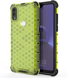 Telefon Tillbaka Väska Klart fall för ALCATEL 1V (2020), Transparent bikaka 360 full kropps täckning hårt PC + TPU Stockt ...
