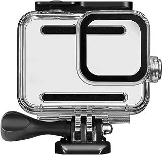 Kupton Carcasa Impermeable para GoPro Hero 8 y Accesorios Carcasa Protectora para Buceo hasta 60 Metros para la Cámara de Acción Go Pro Hero8 con Accesorios de Soporte