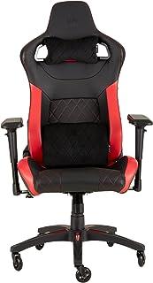 CORSAIR CF-9010013 WW T1 Gaming Chair Racing Design, Black/Red