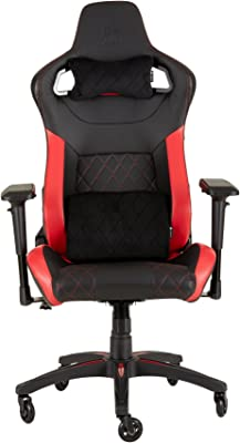 CORSAIR WW T1 Gaming Chair Racing Design, Black/Red