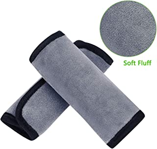 Accmor Baby Car Seat Strap Covers, Car Seat Strap Pads, Universal Baby Seat Belt Covers, Stroller Belt Covers, Baby Head Support, Baby Shoulder Pads, Made of Soft Fluff
