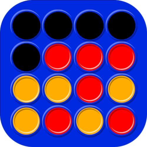 Vier Gewinnt - Klassische Brettspiel und Strategiespiel - 2 Spieler Spiele