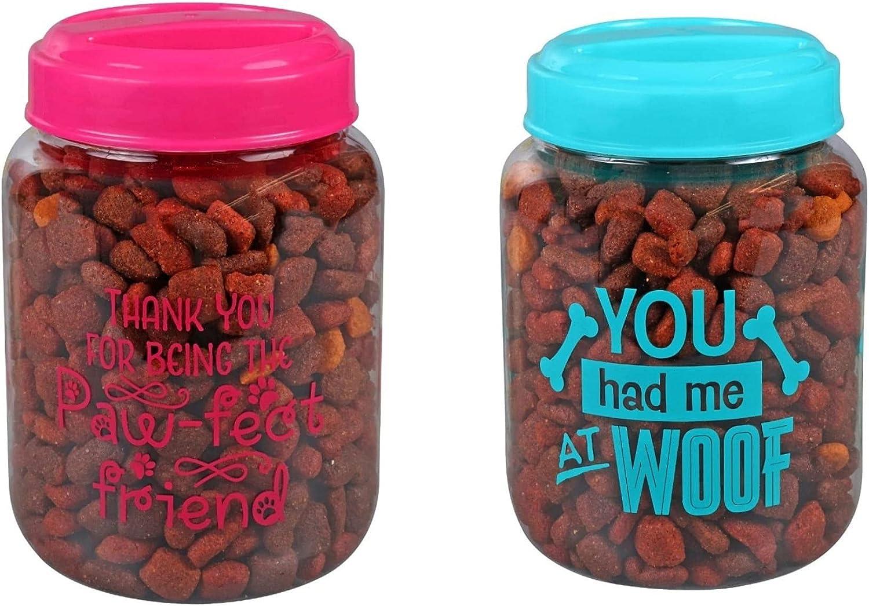 CGT BPA-Free Plastic Credence Airtight Dog Cat Food Pet Storage C Treat Gorgeous