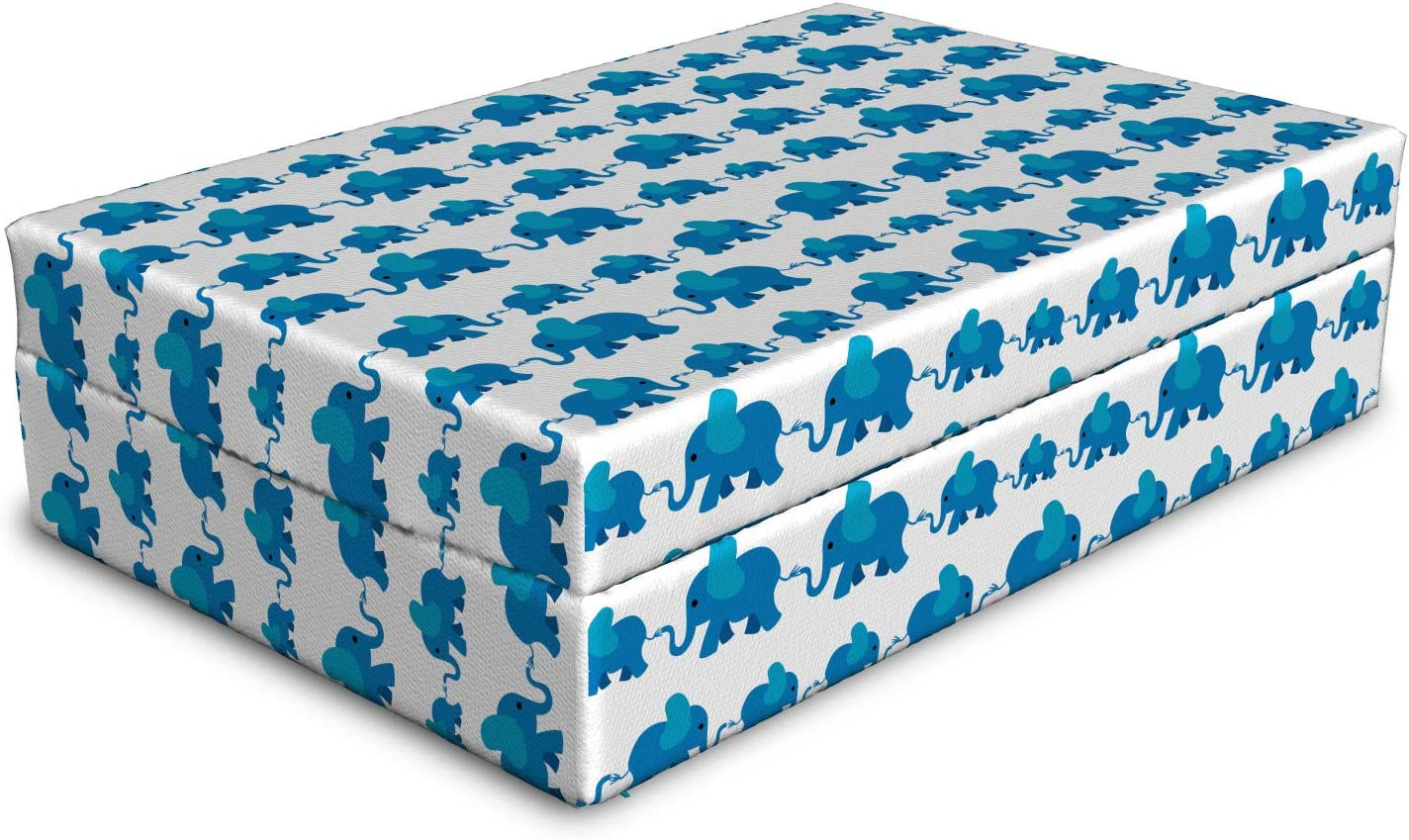 Max 77% OFF Ambesonne Elephant Dog Bed Children Pattern Superior An Color Blue Theme