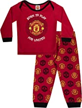 Manchester United FC Official Soccer Gift Boys Kids Baby Pajamas