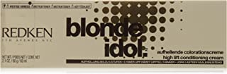 Redken Blonde Idol High Lift Conditioning Cream Base, 5-7B/Beige, 2.1 Ounce