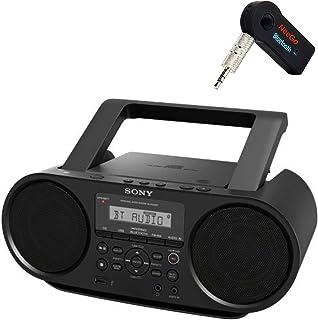 NEEGO Sony Bluetooth Portable Cd Player Stereo Sound System Bundle/Digital Tuner Am/Fm Radio Cd Player Mega Bass Reflex St...