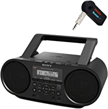 Sony Bluetooth Portable Cd Player Stereo Sound System Bundle/Digital Tuner AM/FM Radio Cd Player Mega Bass Reflex Stereo S...