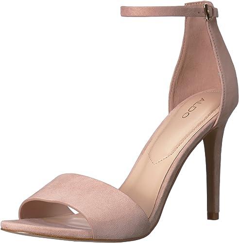 ALDO Wohommes FIOLLA Heeled Sandal, Bone, 7-B US