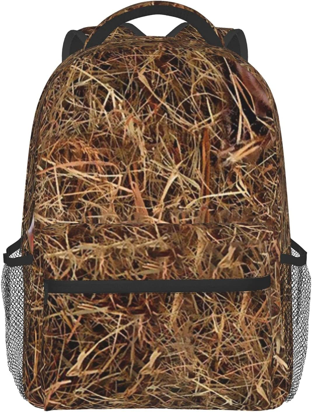 Two pigs in a Max 44% OFF haystack Full Athl Print polyester 100% Schoolbag Soldering