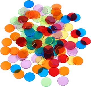 Shappy 120 Piezas de Contador de Color Transparente Marcador