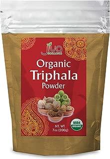 Jiva USDA Organic Triphala Powder 100% Pure - 7 Ounces (Nearly Half a Pound!)