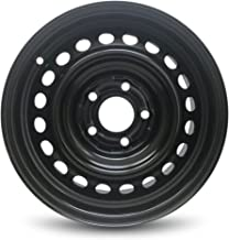 Road Ready Car Wheel For 2006-2011 Honda Civic 15 Inch 5 Lug Steel Rim Fits R15 Tire - Exact OEM Replacement - Full-Size Spare