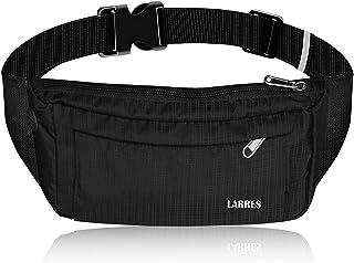 LARRES Fanny Pack for Men Women - Waterproof Waist Pack Crossbody Phone Bag for Sports Traveling Casual Running Festival