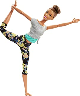 Barbie Made to Move Dolls with 22 Joints and Yoga Clothes