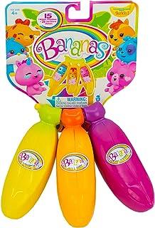 Bananas BB99750 - Juego de juguetes coleccionables (3 unidades), varios colores , color/modelo surtido