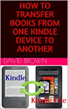 transfer kindle books to another account