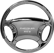 Au-Tomotive Gold, INC. Chrysler 300 S Black Chrome Steering Wheel Keychain