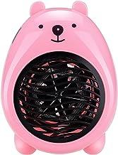 Mini chauffage chauffant chauffage chauffant portable adapté à une utilisation de bureau à domicile Détaché (Color : Pink)
