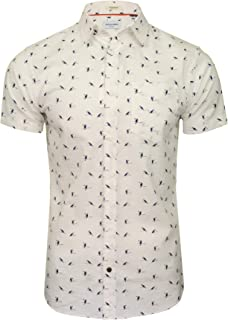 Jack & Jones Camisa Manga Corta JORHEX Shirt SS para Hombre Hombre