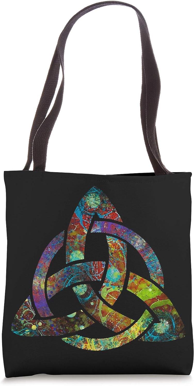 Cute Triquetra Celtic Irish Ireland Symbols Tote Bag