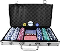 Oypla Poker Set - 300 Piece Complet avec Casino Techno Style