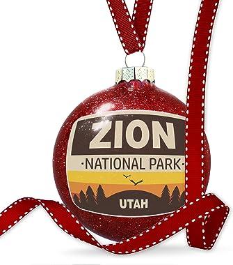 NEONBLOND Christmas Decoration National Park Zion Ornament