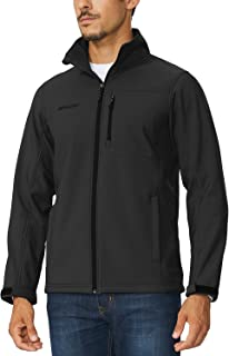 Men's Waterproof Windproof Outdoor Softshell Jacket Microfleece Lined