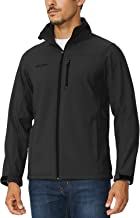 BALEAF Men's Waterproof Windproof Outdoor Softshell Jacket Microfleece Lined