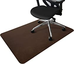 "Office Chair Mat, Upgraded Version - Desk Chair Mat for Hard Floors, 0.16"" Thick, 55""x35"" Low-Pile Chair Mat for Hardwood ..."