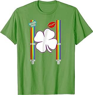 Leprechaun Costume Shirt | Gay LGBTQ Rainbow Shamrock Gift