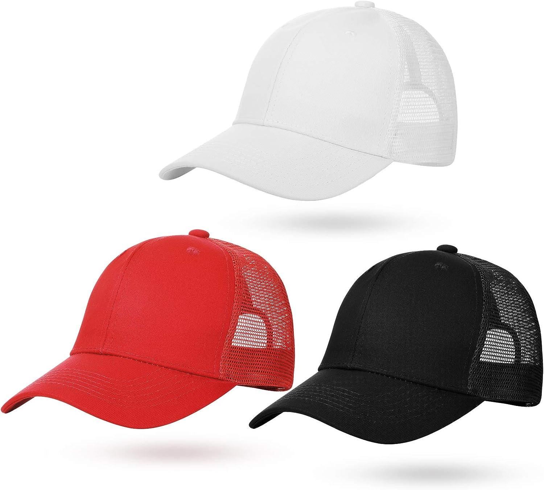 Geyoga Baseball Cap Adjustable Sunscreen Breathable Baseball Cap for Outdoor Sports