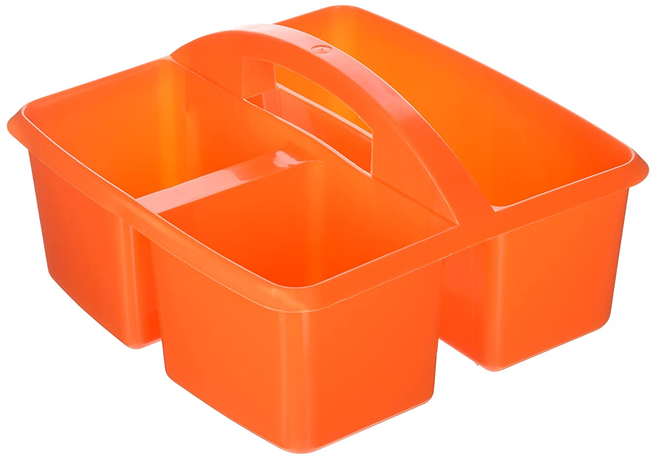 Small Utility Caddy Orange By Romanoff Products by Carson-Dellosa