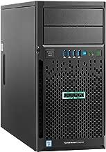 HPE ProLiant ML30 Gen9 Custom Tower Server, 4 Bay, Intel Xeon E3-1230 v5 Quad-Core 3.4GHz 8MB, 32GB DDR4 RAM, 16TB (4 x 4TB) HDD, Smart Array B140i RAID, Single PSU
