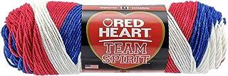 "Coats Yarn"" Red Heart Team Spirit Yarn, Multi-Colour, 25.4 x 8.89 x 8.89 cm"